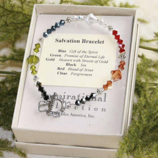 Swarovski Crystal Salvation Story Bracelet
