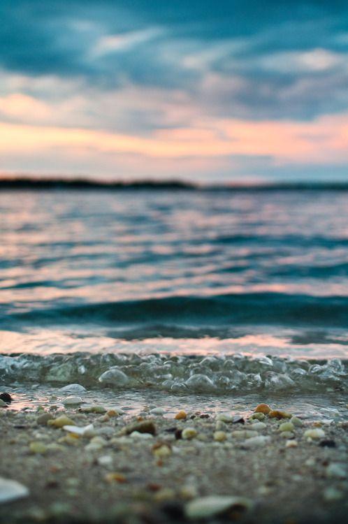 Tumblr: Theseus, Beaches Beautiful, Pebble Beaches, Ocean Beaches, The Ocean, Beaches Sunsets, Photography, The Beaches, The Sea