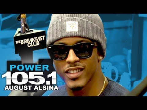 ▶ August Alsina Interview at The Breakfast Club Power 105.1 - YouTube