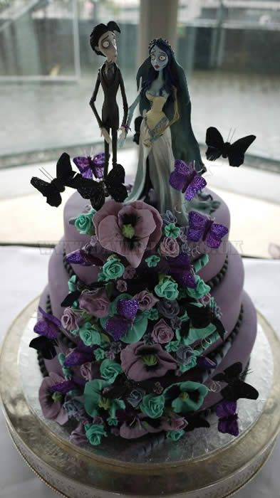 The Lowry Wedding cake - Corpse Bride - Just Different and great!