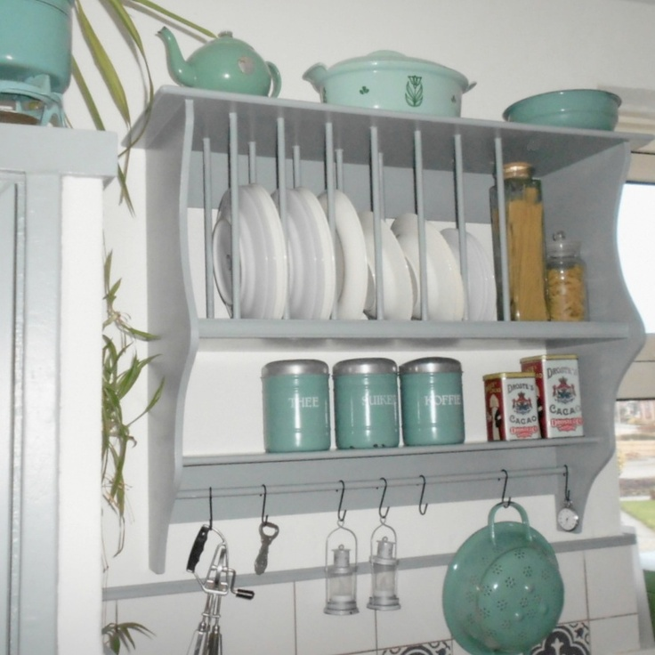 Keukenrek Staand : Plate Rack Bordenrek