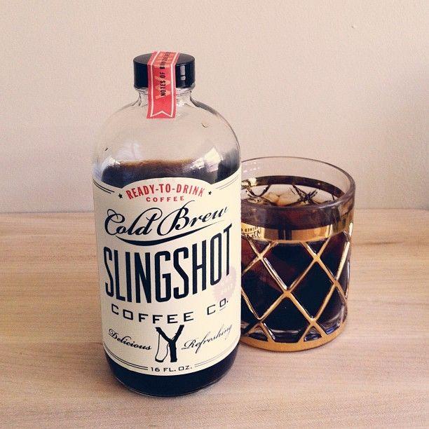 Love me some Slingshot Coffee Co! Design by @Eliz   The Dapper Paper Co