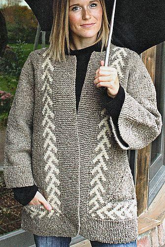 Zig-Zag Jacket by Elizabeth Zimmermann. pattern avail thru Amazon