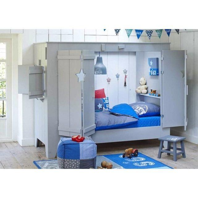Lit alc ve star nordic factory la redoute mobile lit for Lit escamotable la redoute