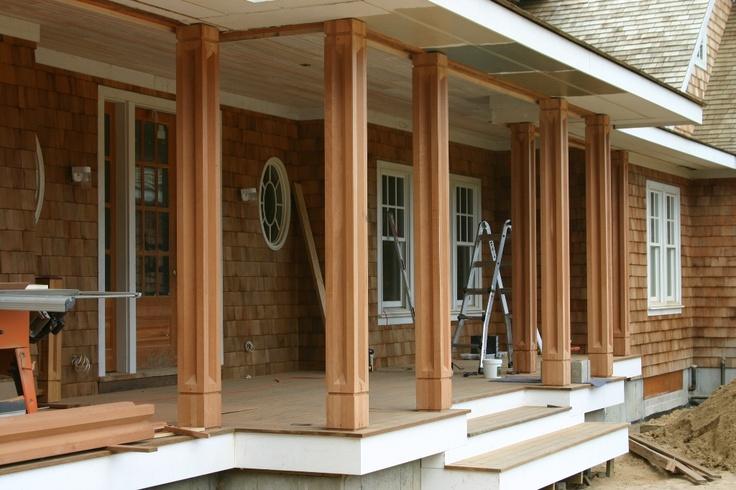 Podpěrné sloupy - Garden furniture Prag - Custom Woodworkes - www.stoho.cz