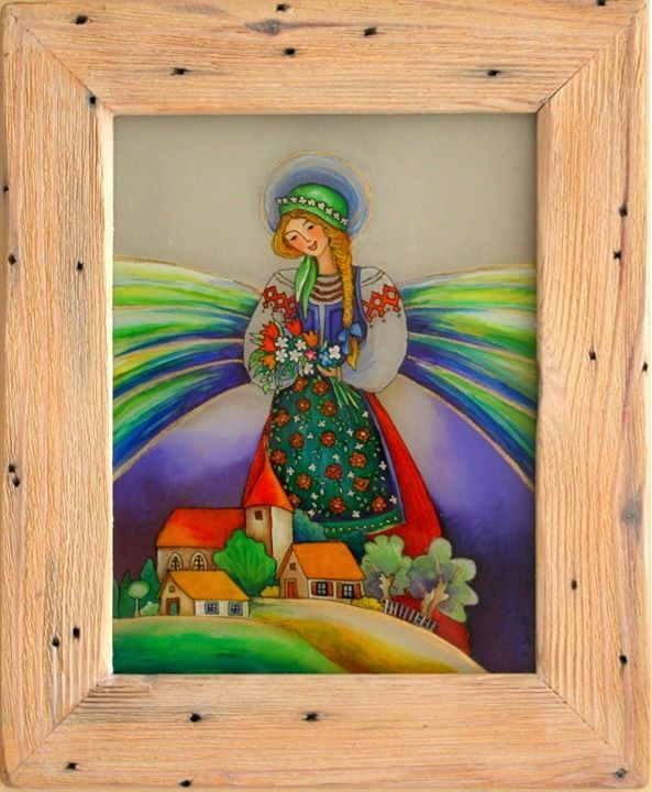 malowane na szkle Danuta Rożnowska-Borys - BorysArt