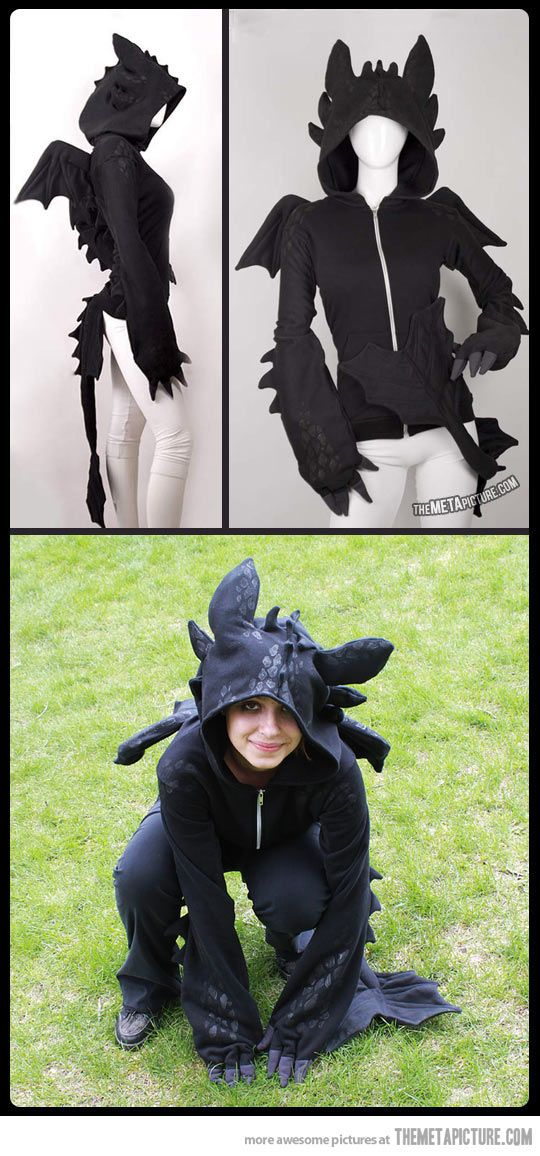 The Toothless Dragon from How To Train Your Dragon. OMG I WANT IT