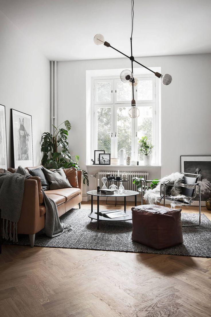 Modern Living Room For Apartment 25 Best Ideas About Scandinavian Apartment On Pinterest