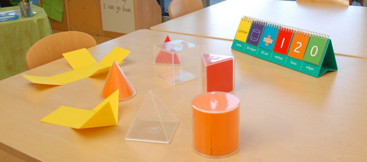 2D3D Geometric Solids includes a Cube, Cylinder, Cone, Triangular Prism, Square & Triangular Pyramid #edxeducation #handson #mathmanipulatives #learningisfun #learnbyplay