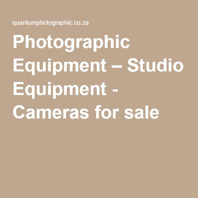 Photographic Equipment – Studio Equipment - Cameras for sale