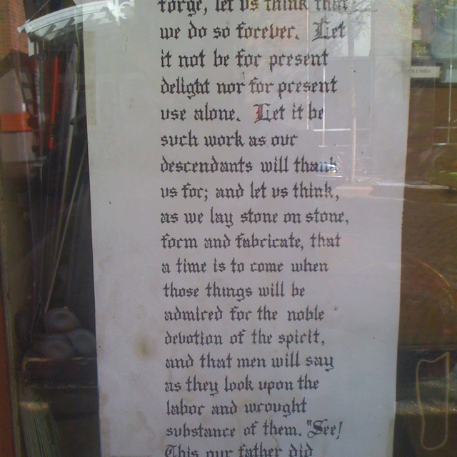 This was in the window of Hardwick's Swap n' Shop in Seattle, Washington.