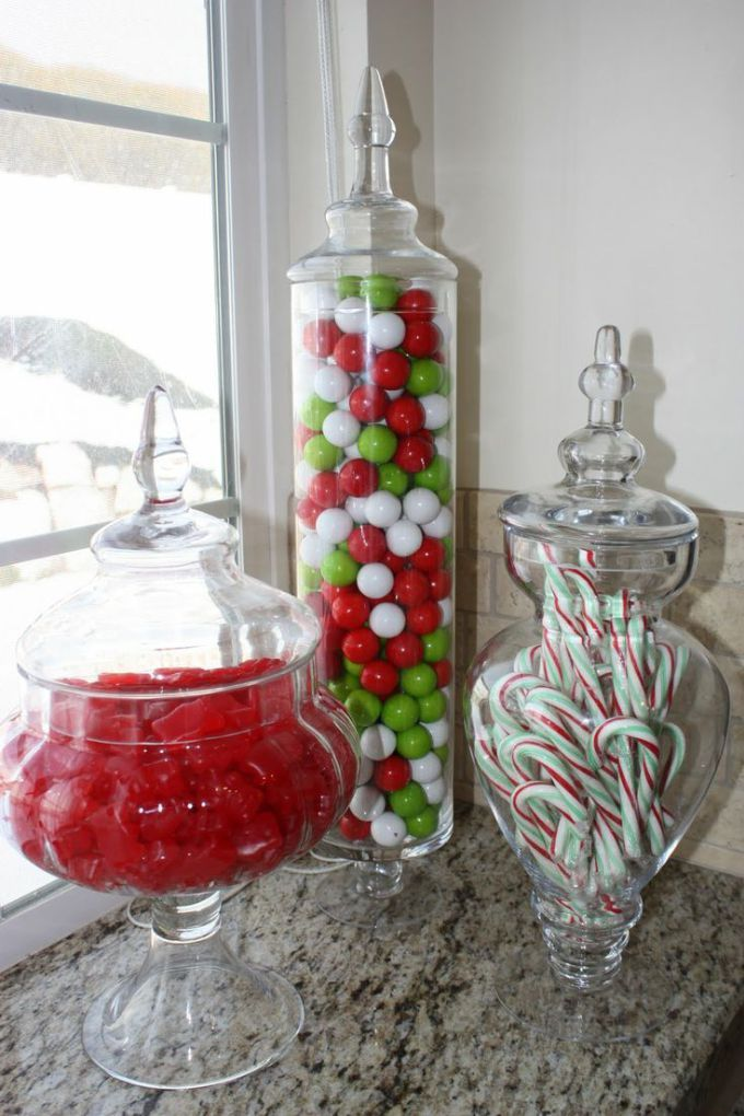 M s de 25 ideas incre bles sobre recipientes de vidrio en for Jarrones de vidrio decorados