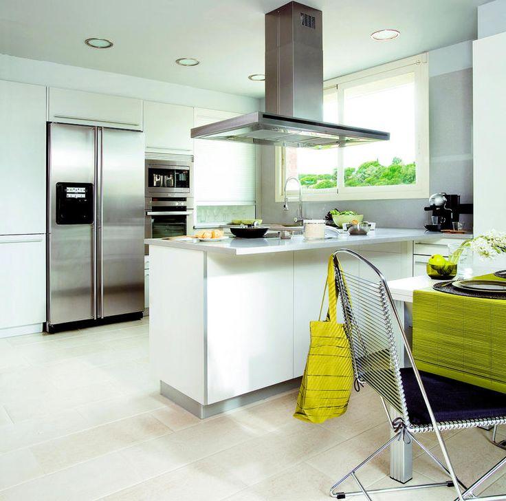 small white modern kitchen