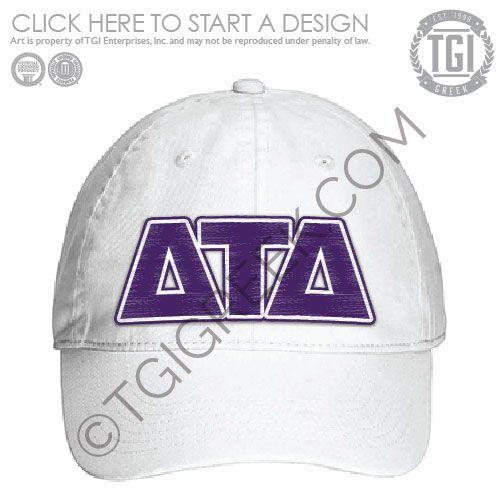 Personalized Tau Delta Phi Greek Line Hat