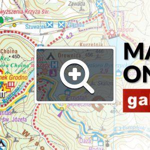 Zbiór dostępnych nieodpłatnie map turystycznych, przygotowany we współpracy ze Studiem Plan. Obejmuje najważniejsze polskie pasma górskie Sudetów i Karpatów. Można linkować do dowolnego miejsca na mapie