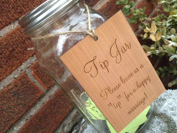 Rustic Guest Book Alternative, Country Wedding, Marriage Advice and Wedding Tip Jar  - 25 Guests on Etsy, $38.00