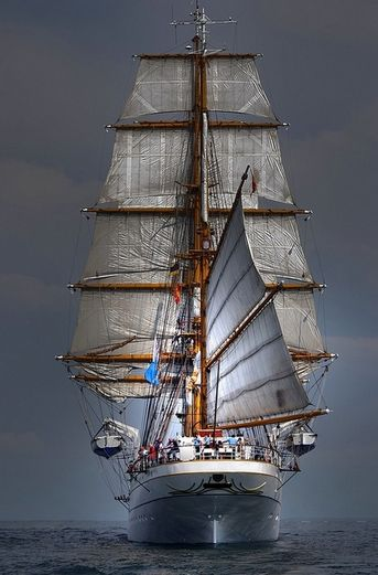 Ever see the parade of tall ships? A great sight!
