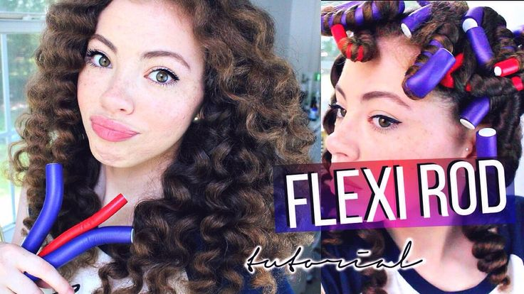 Flexirods Tutorial For Curly Hair She Uses Carols