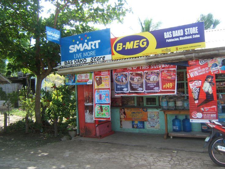 Sari Sari store (one of many) Moalboal