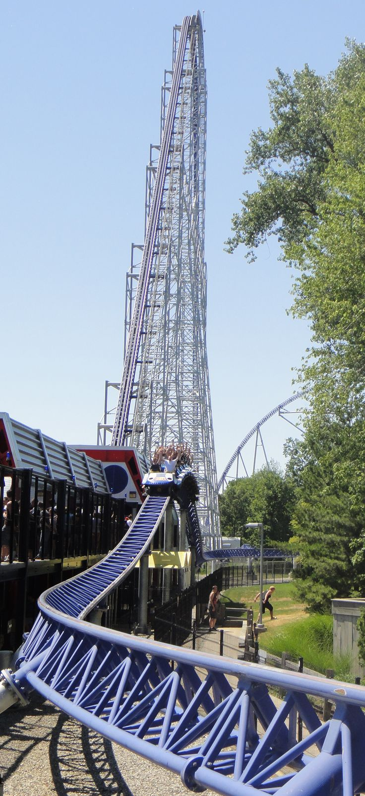 Millennium Force - Ive made it my goal to go back there this summer. The place I miss most about Ohio.