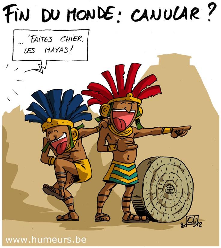 21-12-2012 : la fin du monde selon les Mayas !