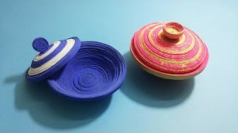 Easy basket for sweets (crepe paper and recycle plastic glass). Great ideas for Valentine's day - YouTube