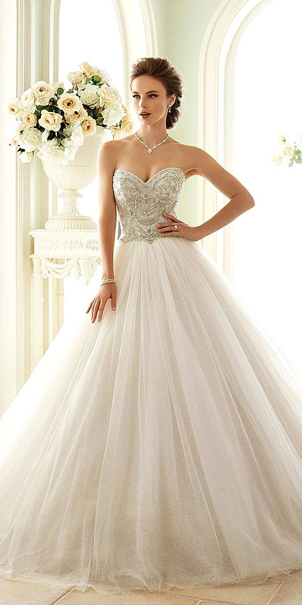 Utterly Gorgeous New Bridal Gowns By Sophia Tolli ❤ Sophia Tolli wedding dresses are always luxurious, feminine and have chic details. See more:  http://www.weddingforward.com/bridal-gowns/ #wedding #gowns #bridal