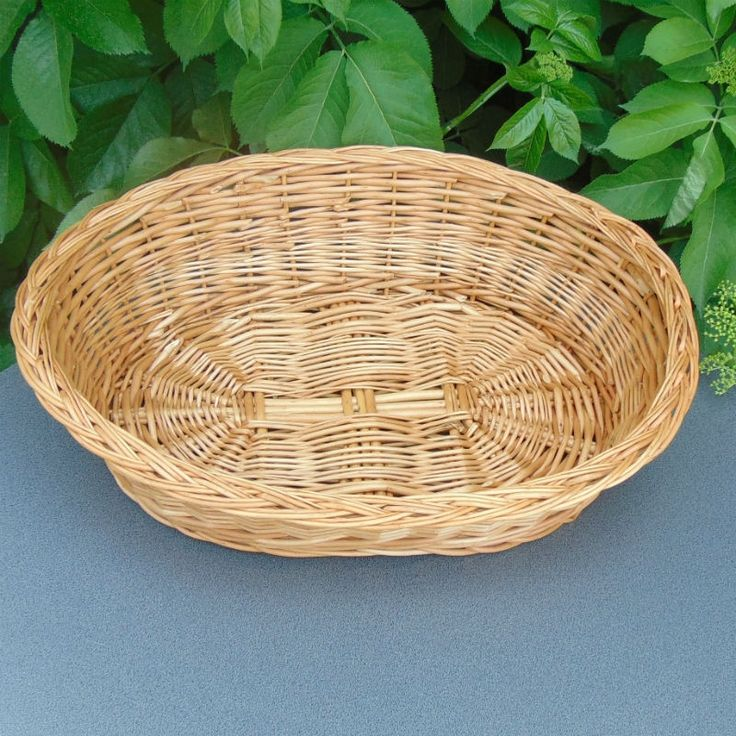 Handmade by the artisan from his own crop of wicker.