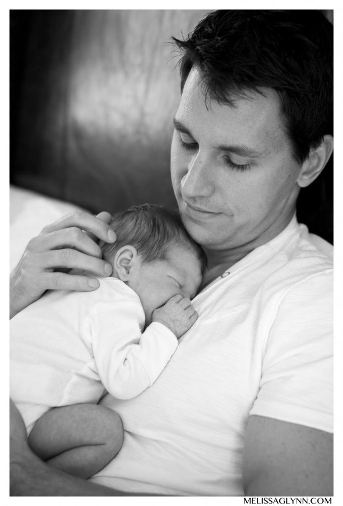 Austin, Texas Newborn Portraits | Melissa Glynn Photography - baby, family, daddy, dad, father, daughter