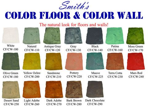 Water Based Concrete Stain Smith Paints Gives