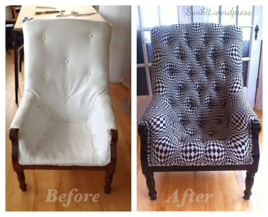 Salvaging A Sleepy Hollow Chair
