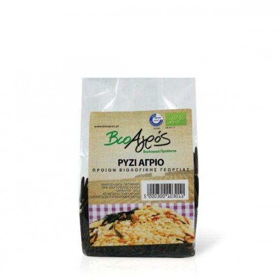 biotrofi.gr- Βιολογικό ρύζι άγριο 200γρ Βιοαγρός