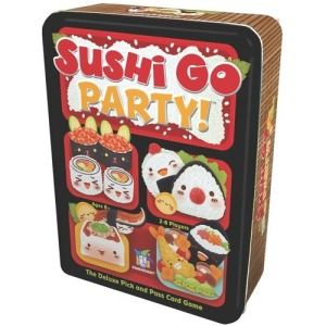 Sushi Go Party! - I gave my nieces my regular Sushi Go since the older one liked it so much. I then saw this and HAD to put it back into the collection.