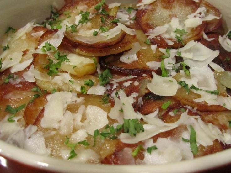 Chicken-Bacon Bake with Potato-Malt Vinegar Crust