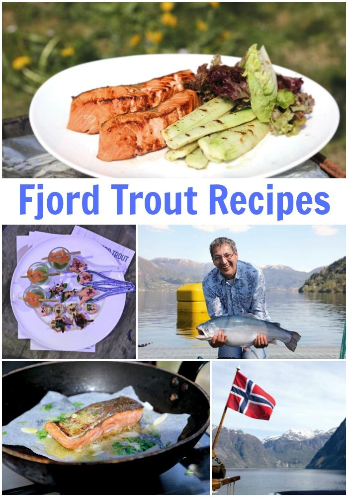Tasty recipes to make using Norwegian Fjord Trout from Top Chef Daniel Galmiche- Foodies100.co.uk