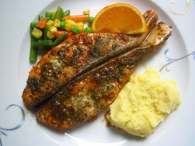 Quick and Easy Orange Salmon! Get the recipe at: http://quickneasyrecipe.weebly.com/