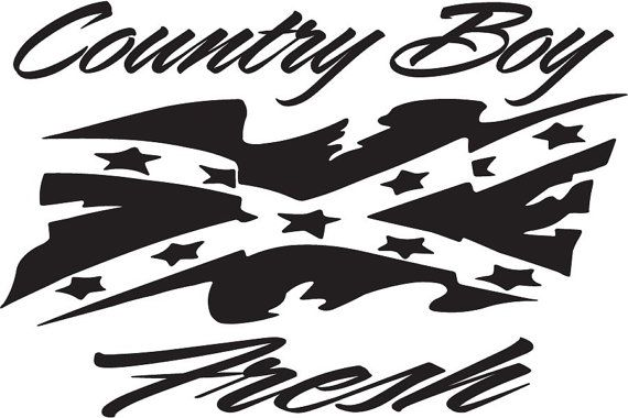 Country Boy Fresh Decal by Adsforyou on Etsy, $7.45 ...