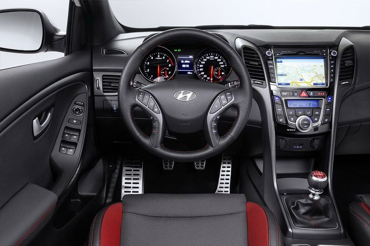 New Release 2015 Hyundai i30 Turbo Review Interior View Model