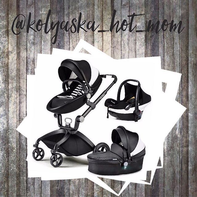 Без лишних деталей😎 Для стильных мам👱🏽♀️ Hot mom в чёрной экокоже на чёрной раме😎 Красивая и удобная😍 Комплектация: ✔️Дождевик ✔️Москитная сетка ✔️Подстаканник ✔️Соломенный матрасик ✔️матрасики в люльку и прогулку ✔️5ти точечные ремни безопасности ✔️Насос ✔️Накидка на люльку ✔️Капюшон ✔️Петля на руку маме Также на зиму в продаже накидка ножки для блока прогулки☃️ #kolyaska_hot_mom#krasnodar