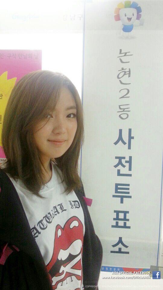 AOA Black's Youkyung vote