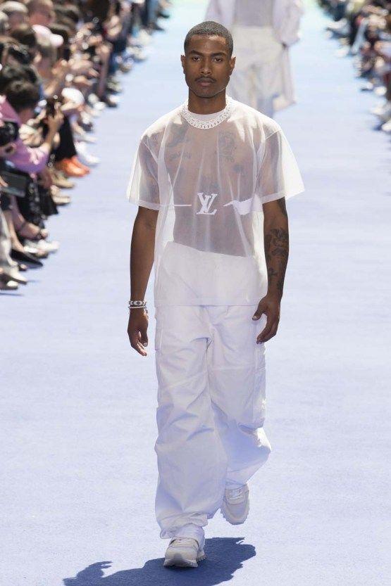 Défilé Louis Vuitton Menswear Printemps Été 2019   fashion show men ... f726b000aa1