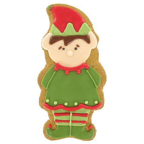 Buy Image on Food Elf Gingerbread Biscuit, 55g Online at johnlewis.com