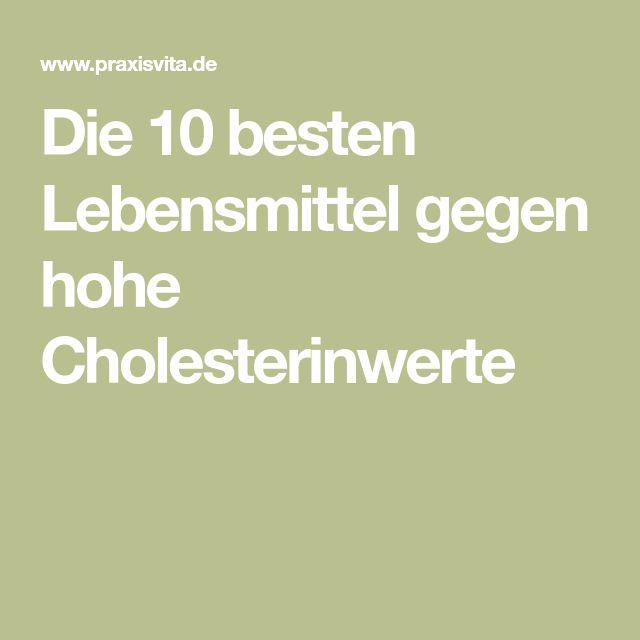 diät bei zu hohem cholesterinspiegel