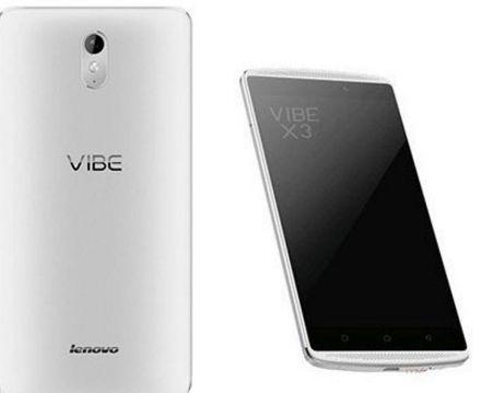 Lenovo Vibe X3 Price Releasing in India with Finger Print Sensor