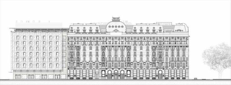 Marco Piva Design sketch