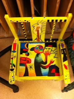 art @ the heart: Artist Chairs 2011 (Grade 11 Visual Arts AVI3M)