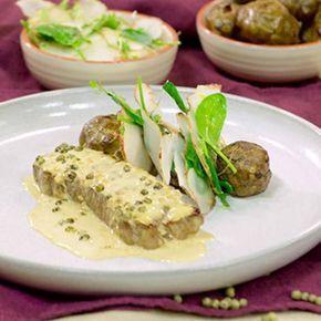 Grönpepparsås – recept