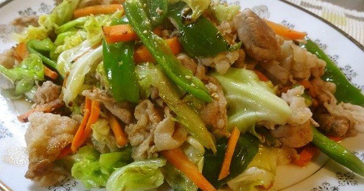 中華食堂の味♪春キャベツと豚の炒めもの by toddchiku [クックパッド] 簡単おいしいみんなのレシピが260万品