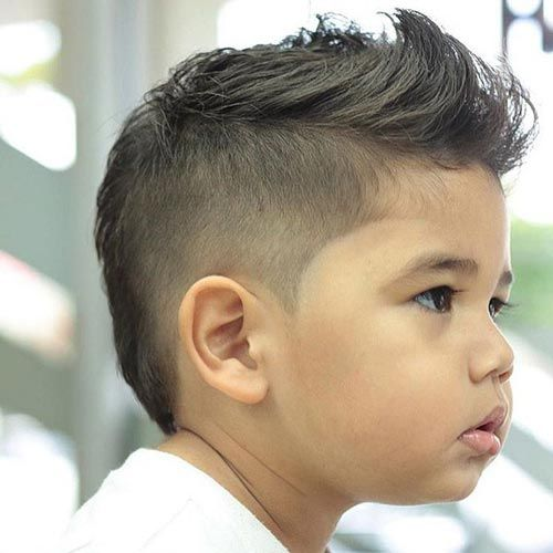 Short Disconnected Mohawk - Toddler Boy Haircut