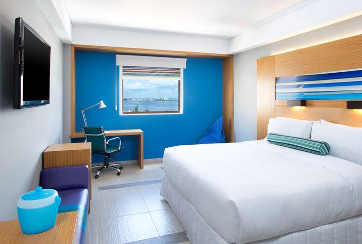 Aloft Cancun - king aloft room